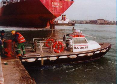 ORMEGGIATORE 05: servizio speciale ormeggio e navigazione nazionale litoranea