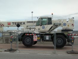Gru TEREX A450