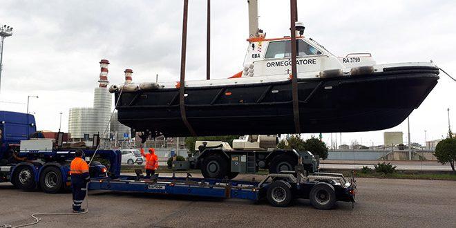 La motobarca EBA viene ceduta ai colleghi di Trieste